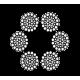 Канат стальной двойной свивки 66,5 мм ГОСТ 3079-80